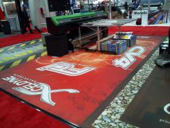 Repositionable Floor Graphics