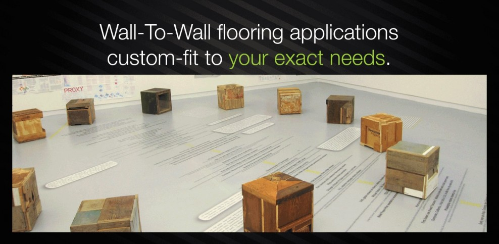 Wall-to-Wall Printable Flooring
