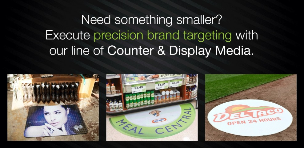 Counter and Display Media