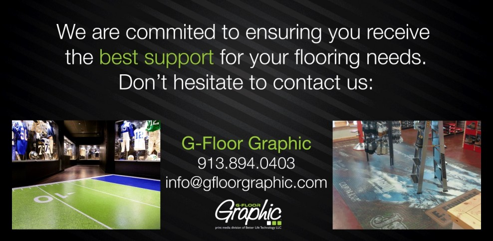 Contact G-Floor Graphic